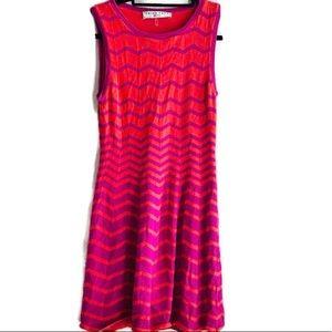 Trina Turk Knitted sweater Dress Pink/coral Sz S